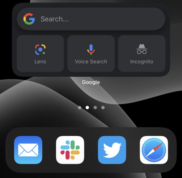 Ikhtisar Widget Yang Ada Pada Aplikasi