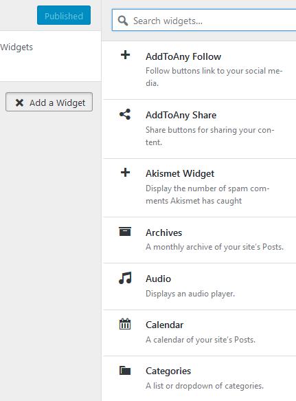 Cara Menambahkan Widget WordPress ke Posting Blog atau Halaman Web